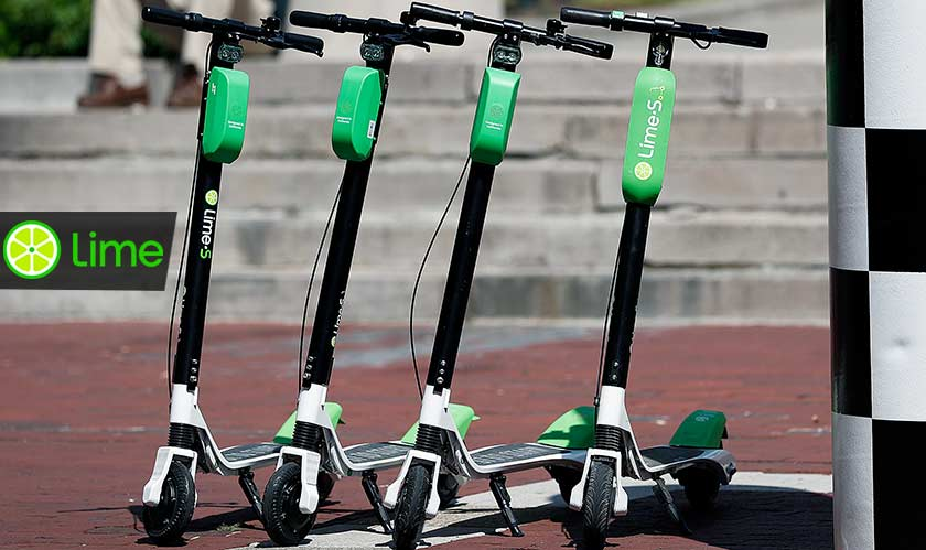 lime scooters break apart