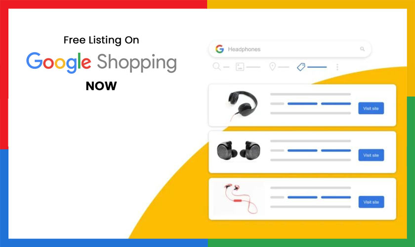 list products on google free
