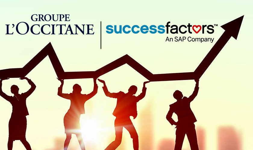 loccitane adopt sap successfactors