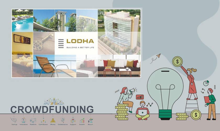 lodha developers to raise crowdfunding