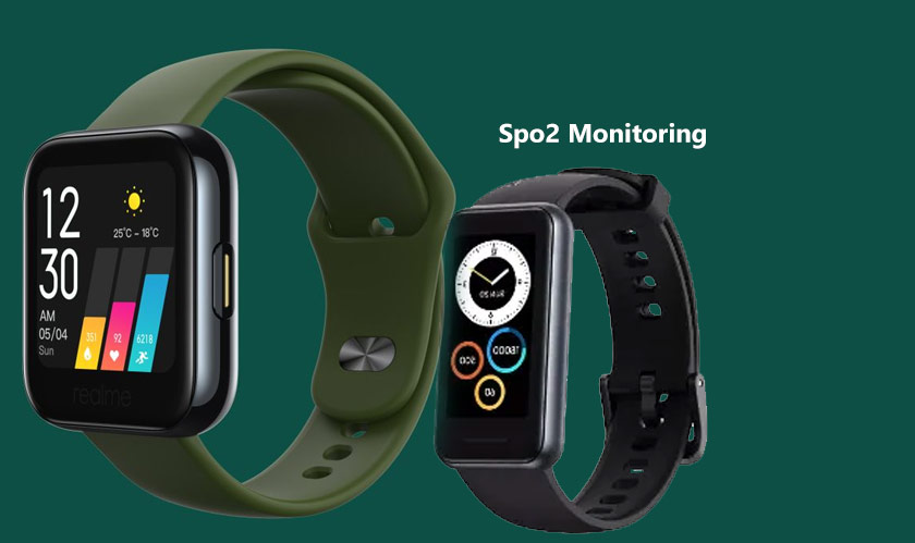 realme launches band 2 with large display spo2 monitoring