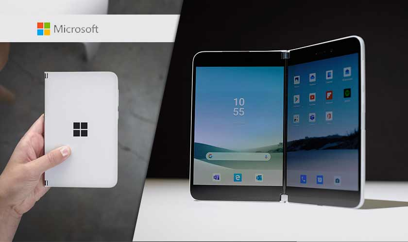 microsoft dual screen android mobile