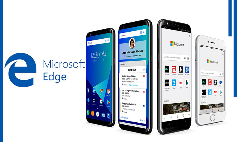 microsoft edge android and ios