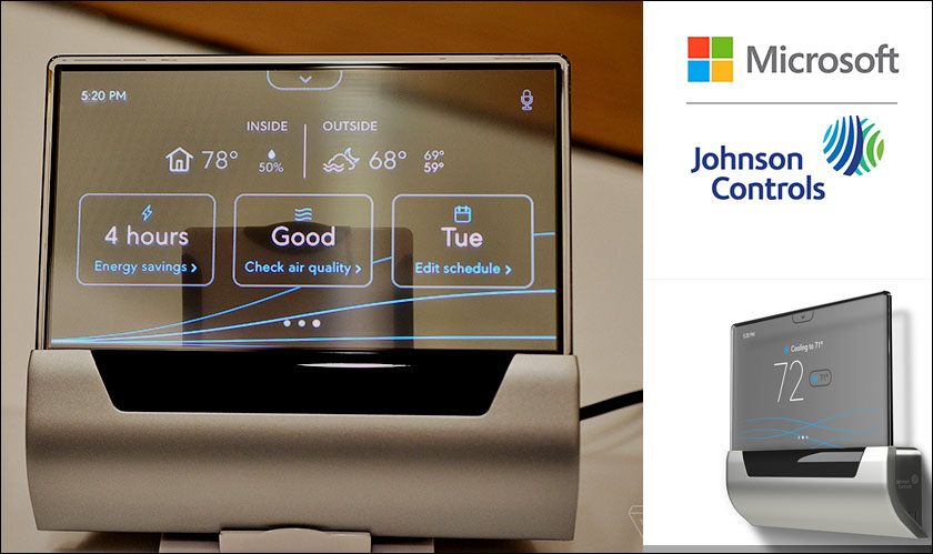 microsoft glas thermostat unveiled