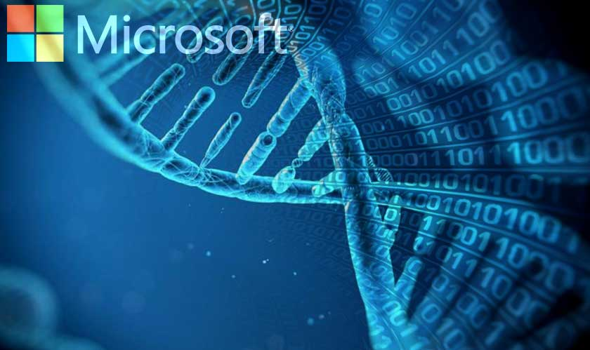 microsoft introduces dna for data storage