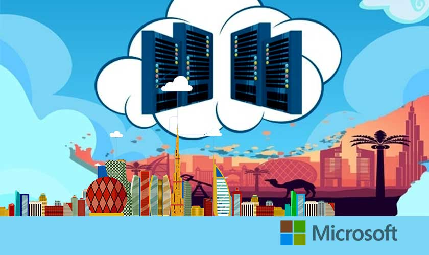 microsoft middle east data center