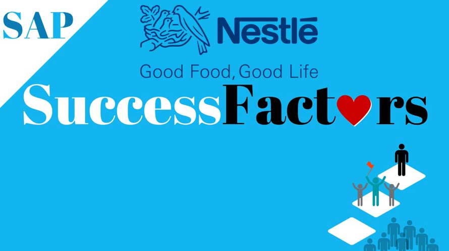 nestle uses saps successfactors for employee management