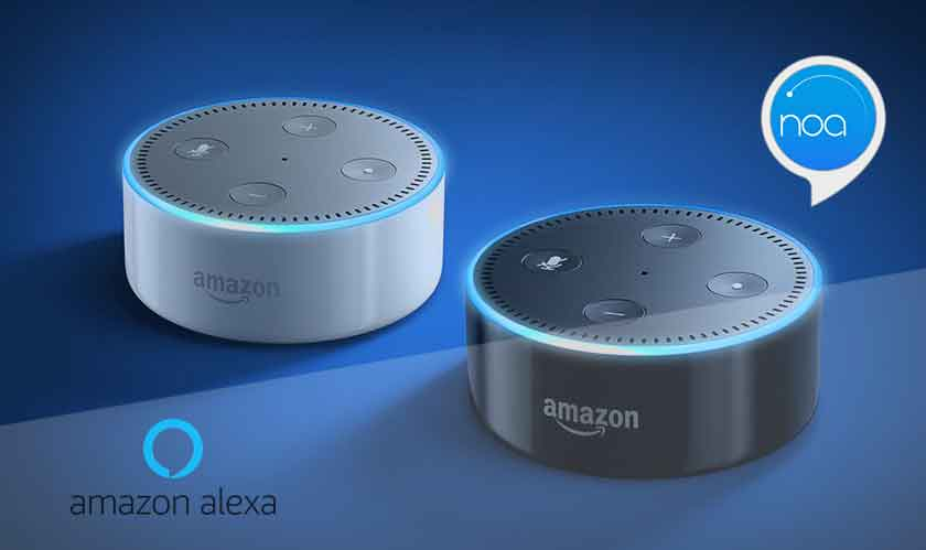 noa alexa skill reads news