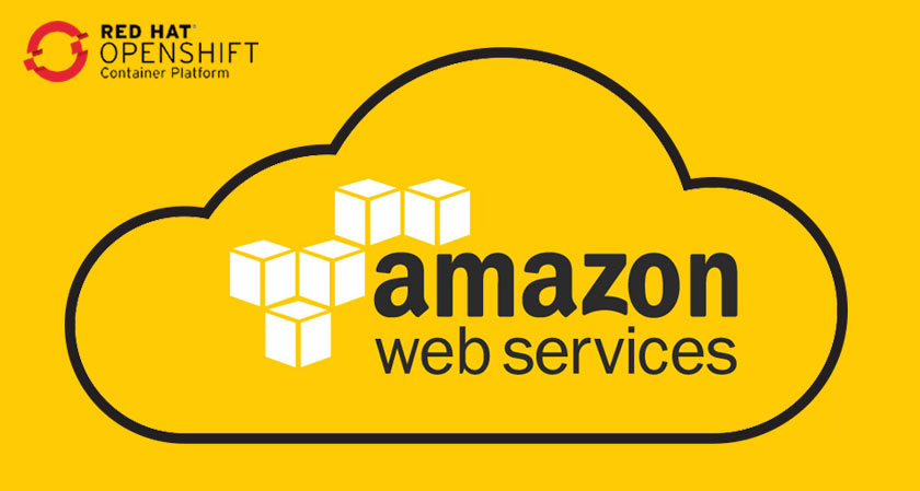 now access amazon cloud services directly through red hats openshift platform