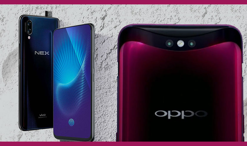 oppo vivo introduces camera sliders