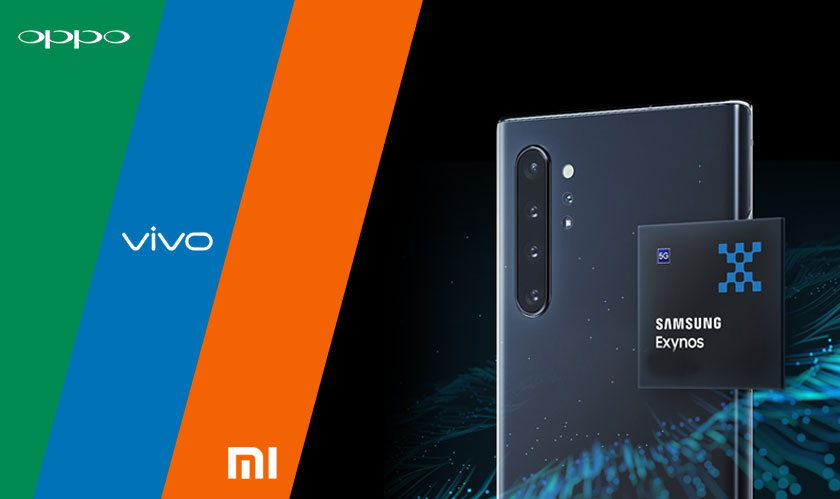 oppo vivo xiaomi could use exynos processors