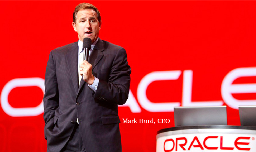 oracle hurd advises to employ cloud
