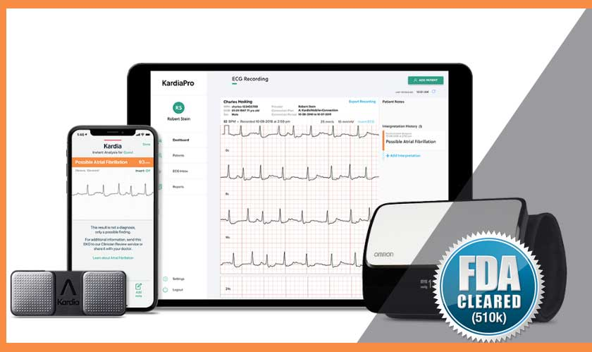 personal ecg device fda clearance