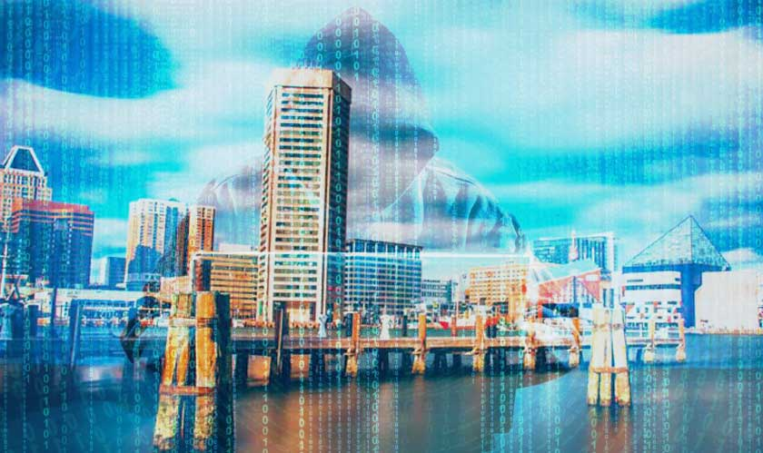 ransomware hit baltimore city