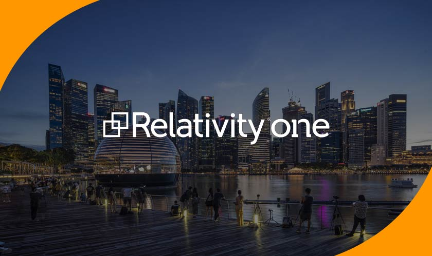 relativityone hosted in singapore