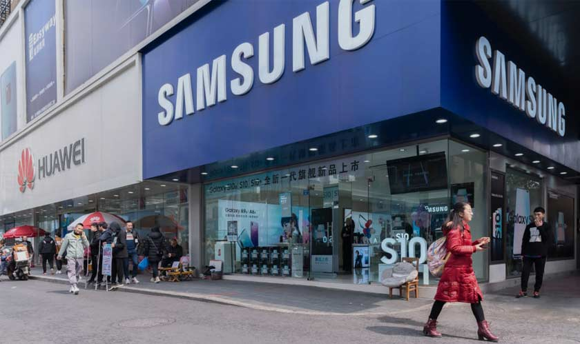samsung giving tough completion to huawei in 5g race