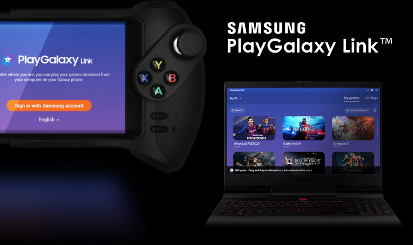 samsung releases its playgalaxy app