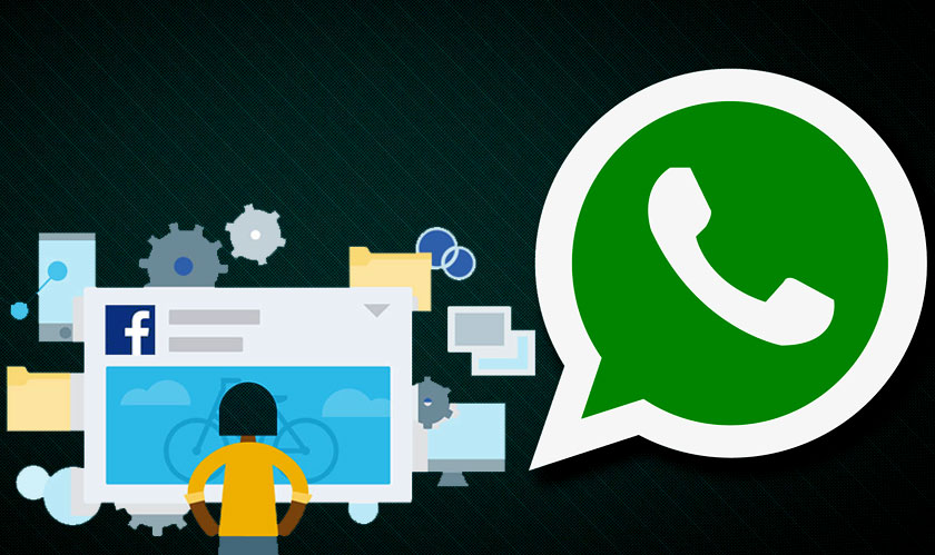 send me a whatsapp message is the new whatsapp advertisement on facebook