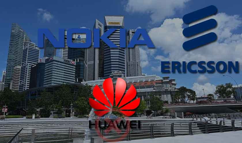singapore telecom firms shifted boycotts huawei