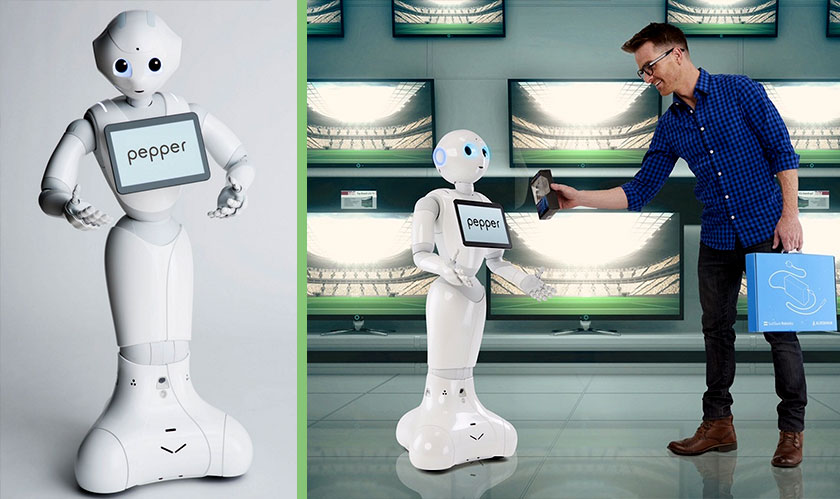 softbank pepper robot smithsonian