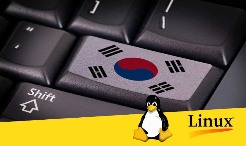 south korea government with linux