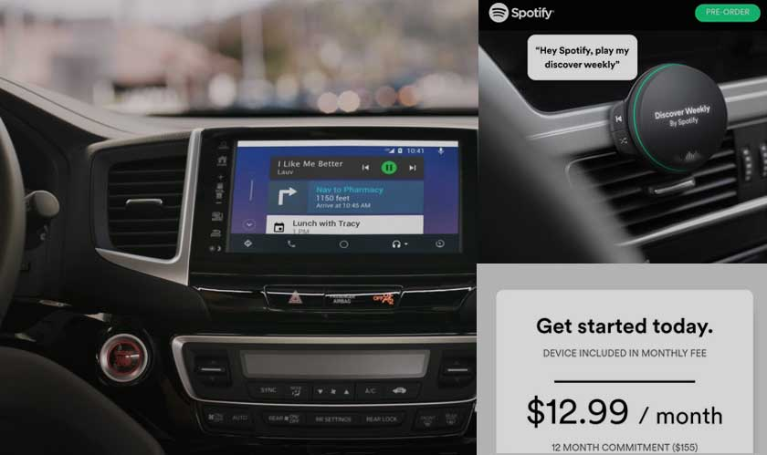 spotify car smart assistant
