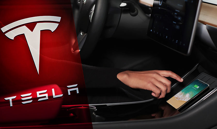 tesla releases wireless charger