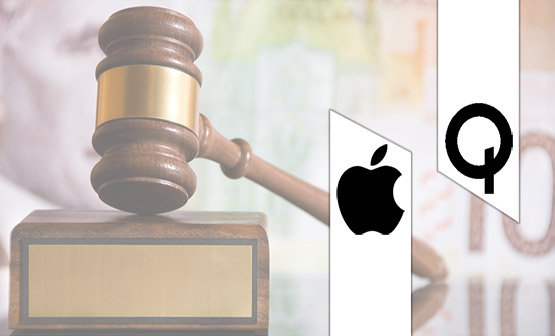 the apple and qualcomm battle takes a new turn qualcomm countersues apple