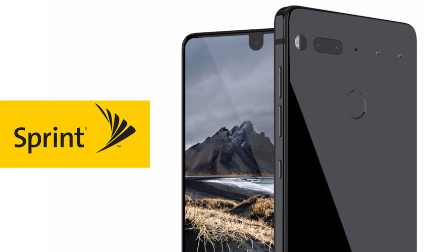 the essential phones are here at sprint