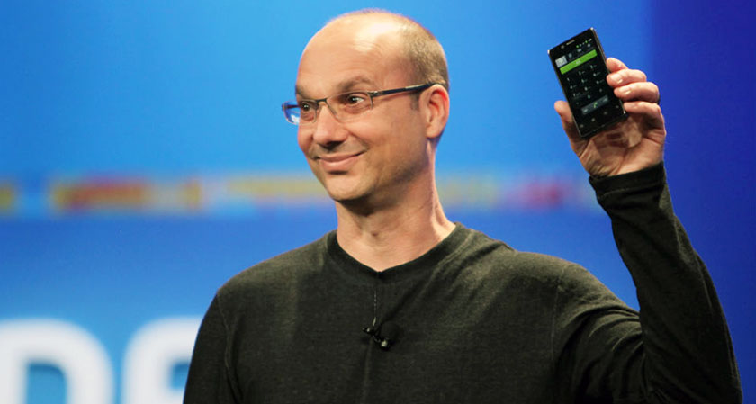 the father of android andy rubin launches essential phone