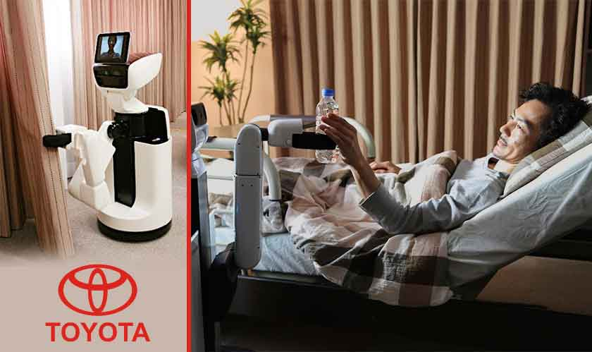 toyota builds human support robot
