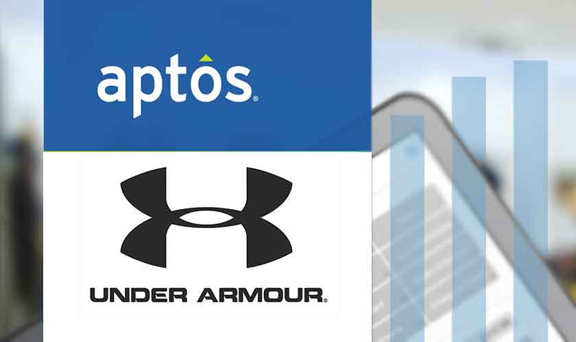 under armour profited after using aptos