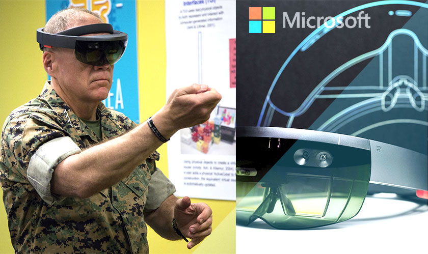us army contract microsoft hololens