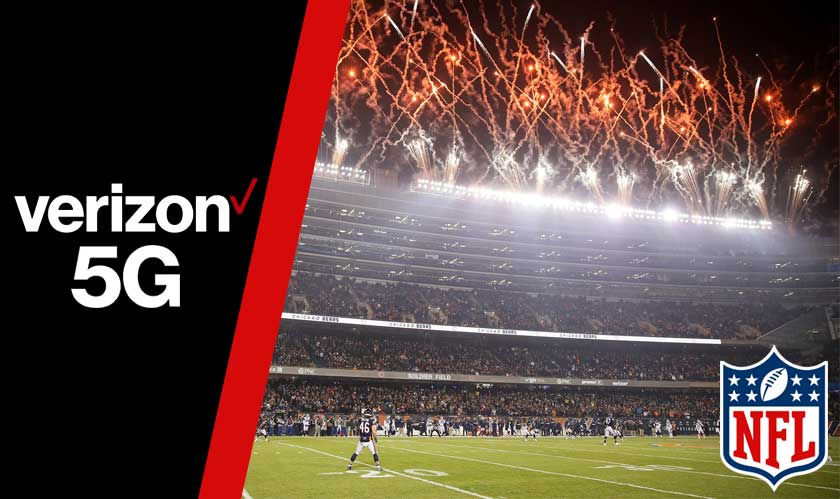 verizon 5g nfl stadiums