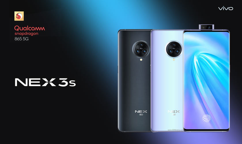 vivo nex 3s confirmed to have snapdragon 865 and 5g