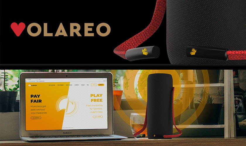 volareo decentralized smart speaker