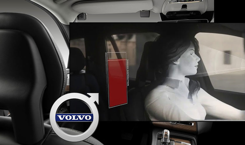 volvo camera monitors driver