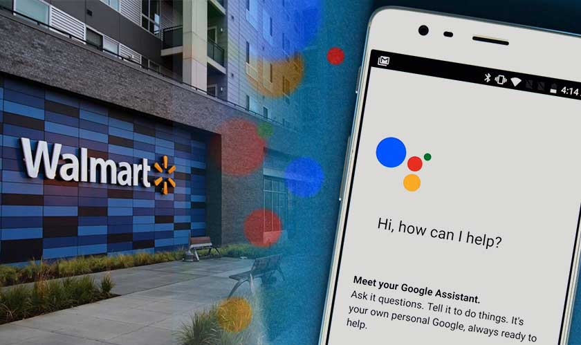walmart partners google assistant