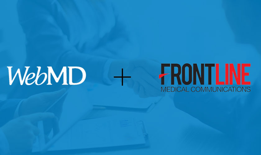 webmd acquires frontline media communications