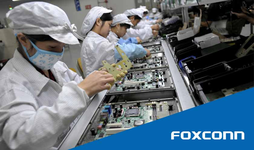 work by foxconn beats expectations