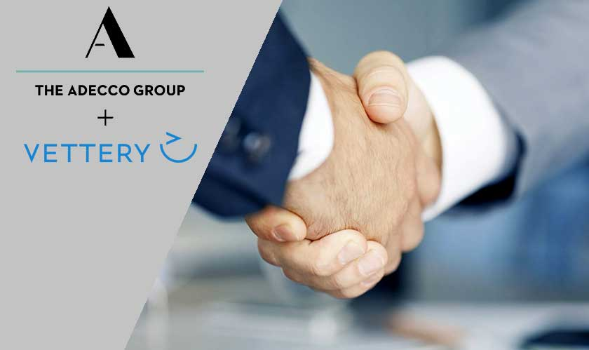 erp adecco acquires startup vettery