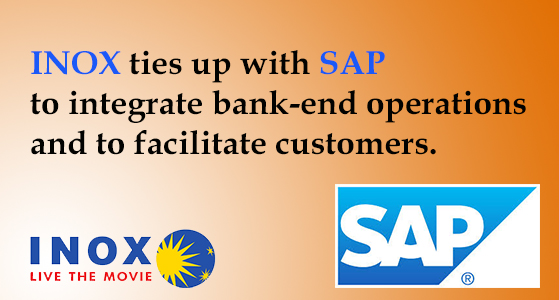 inox ties up with sap to integrate bank end operations